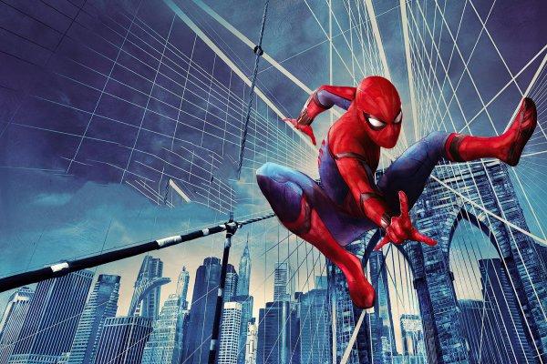 Человек-Паук: Возвращение Домой 4k Ultra HD Обои | Фон ...