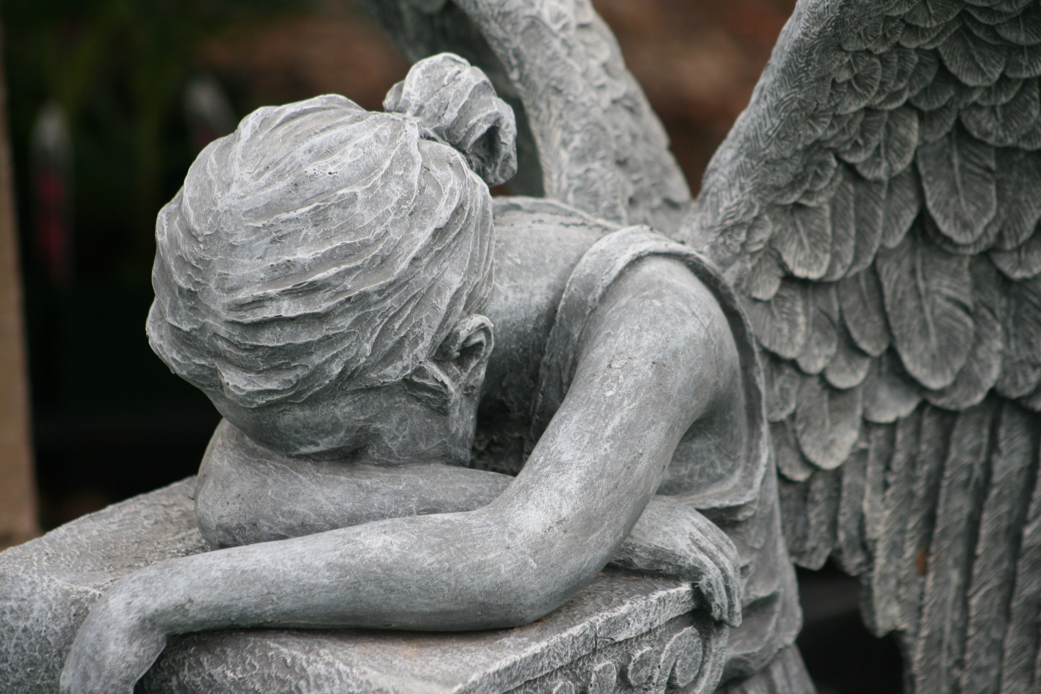 angel statue full hd wallpaper and background | 3600x2400 | id:444873
