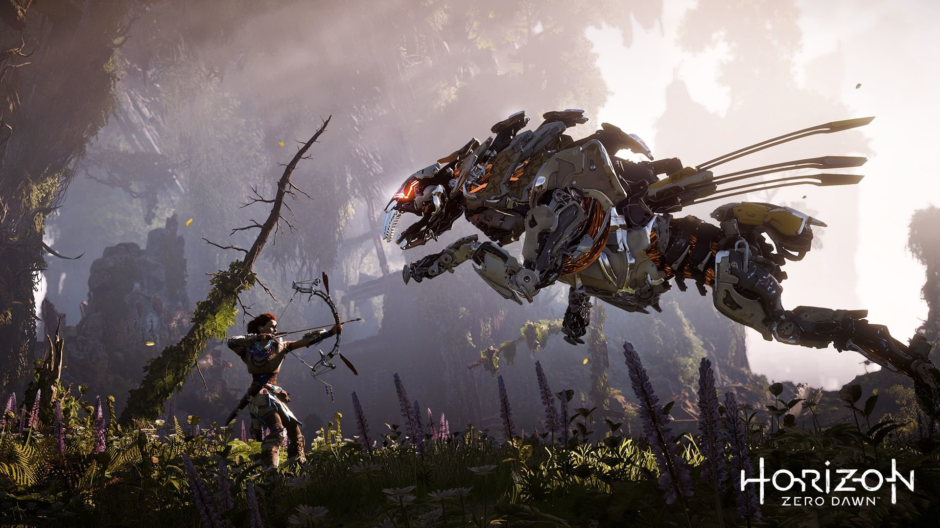161 Horizon Zero Dawn HD Wallpapers   Background Images   Wallpaper     Aloy Horizon Zero Dawn      HD Wallpaper   Background Image ID 718521