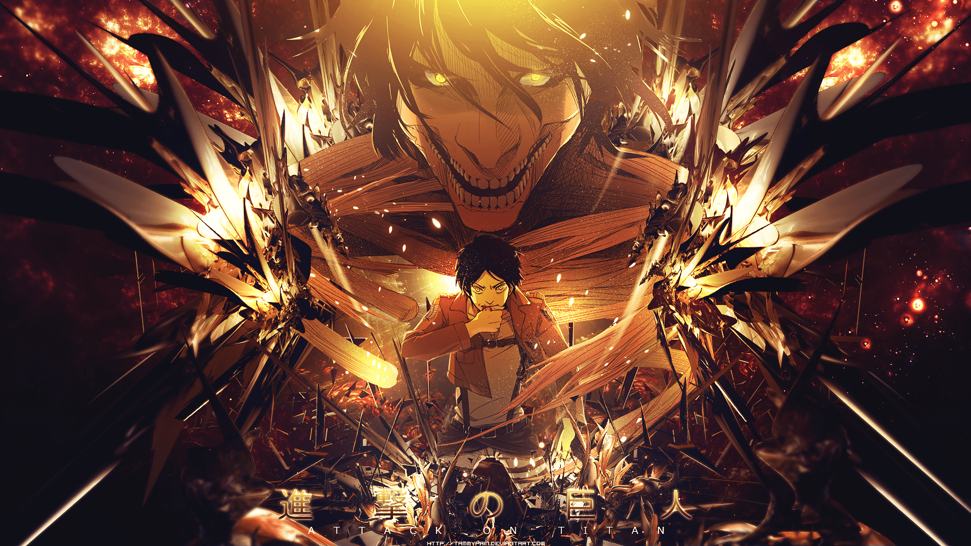 A subreddit for fans of the anime/manga attack on titan (known as shingeki no kyojin in. Attack On Titan HD Wallpaper | Background Image ...