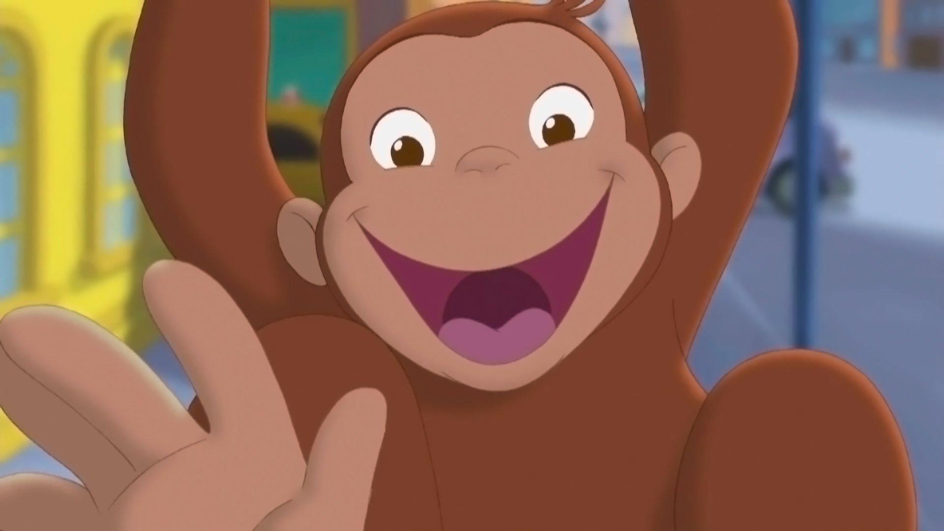 Curious George 2 Follow That Monkey Hd Wallpaper