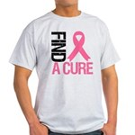 FindACure Breast Cancer Light T-Shirt