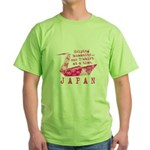 JAPAN RELIEF 2011 Green T-Shirt