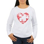 MY MISSING PIECE Women's Long Sleeve T-Shirt