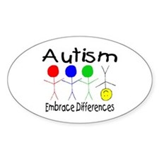 Autism Embrace Differences Decal