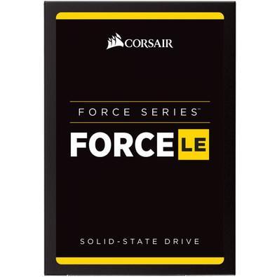 SSD Corsair Force LE 2.5´ 480GB SATA III 6Gb/s Leituras: 560MB/s e Gravações: 530MB/s - CSSD-F480GBLE200B