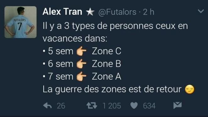 Zone C et vous ?