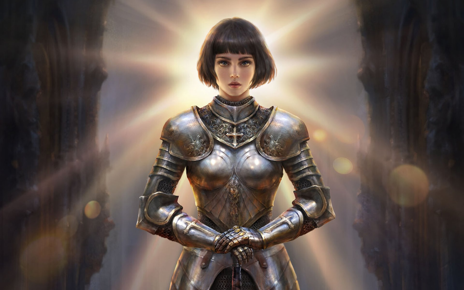 Joan Of Arc Hd Wallpaper