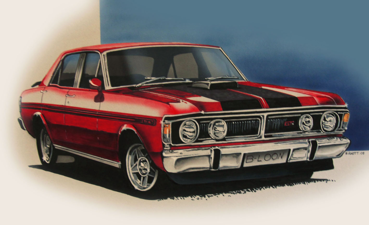2 Xy Ford Falcon Phase Iii Gtho HD Wallpapers Background