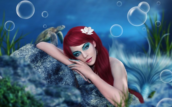 Mermaid Full HD Wallpaper and Background | 2560x1600 | ID ...