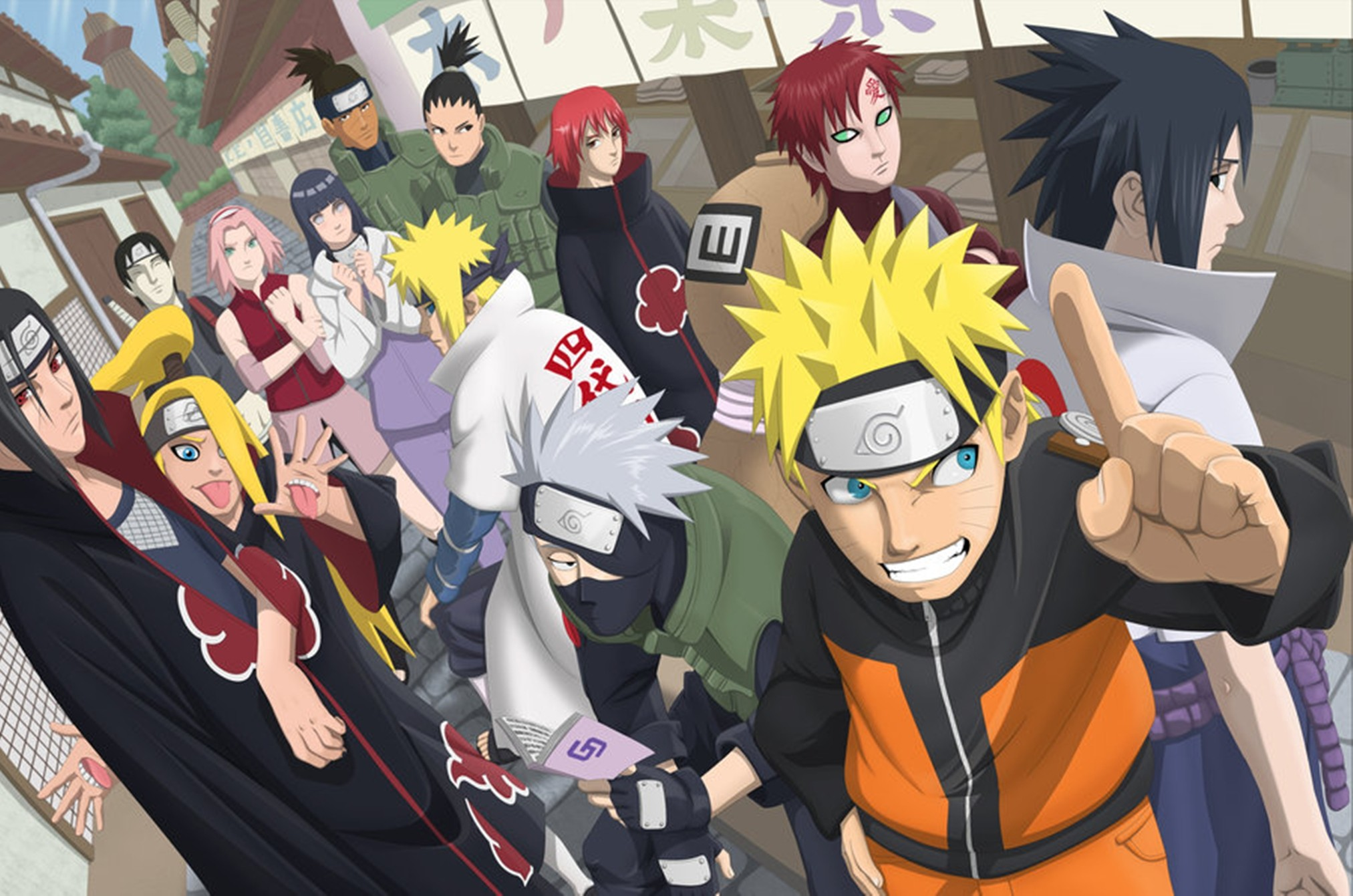 Naruto Shippuden Full HD Wallpaper And Background Image