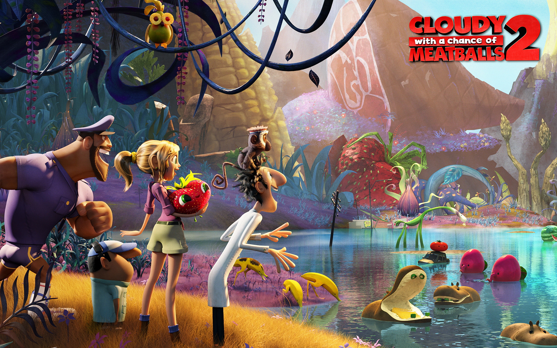 Cloudy With A Chance Of Meatballs 2 Computer Wallpapers