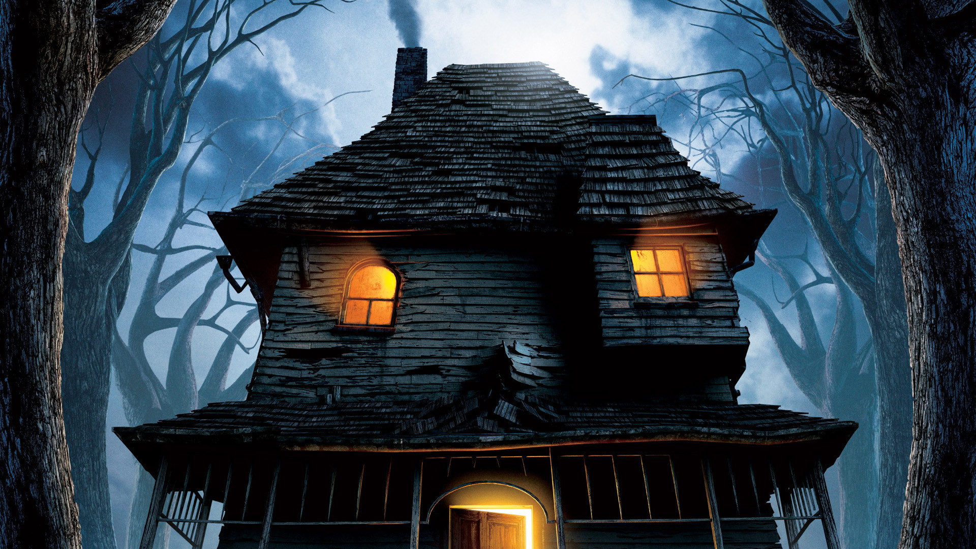 2 Monster House HD Wallpapers Background Images Wallpaper Abyss