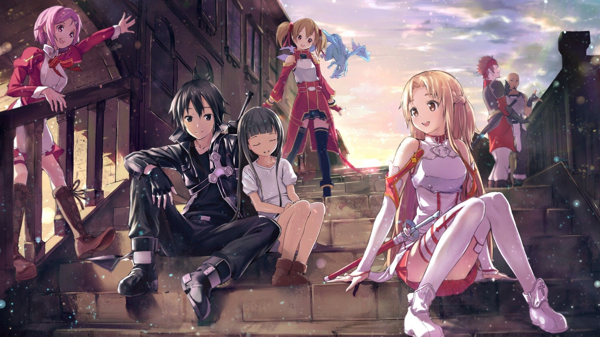 sword art online full hd wallpaper and background | 1920x1080 | id