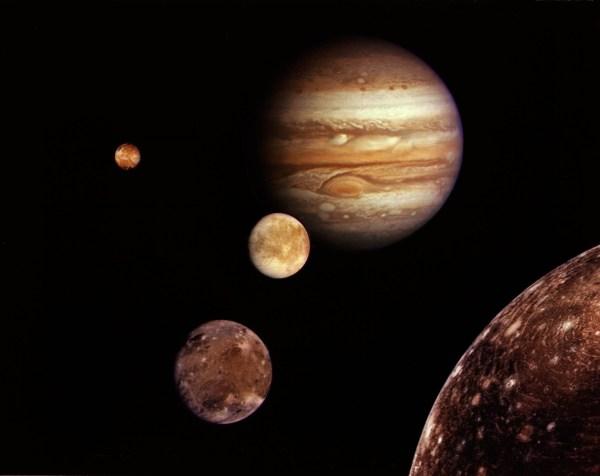 Jupiter System Montage Computer Wallpapers Desktop