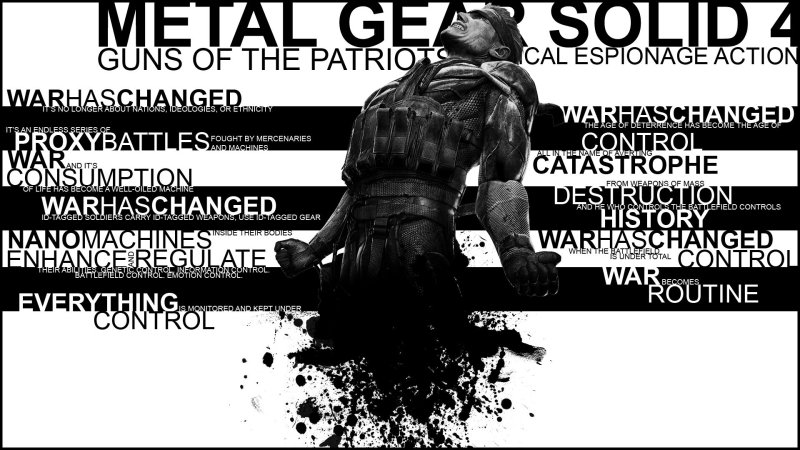Metal Gear Solid 4 Guns of the Patriots MGS4 Metal Gear Solid Ranking MGS Ranking Metal Gear Solid Rückblick Metal Gear Solid Retrospektive Metal Gear Solid Retrospective MGS Rückblick MGS Retrospektive MGS Retrospective