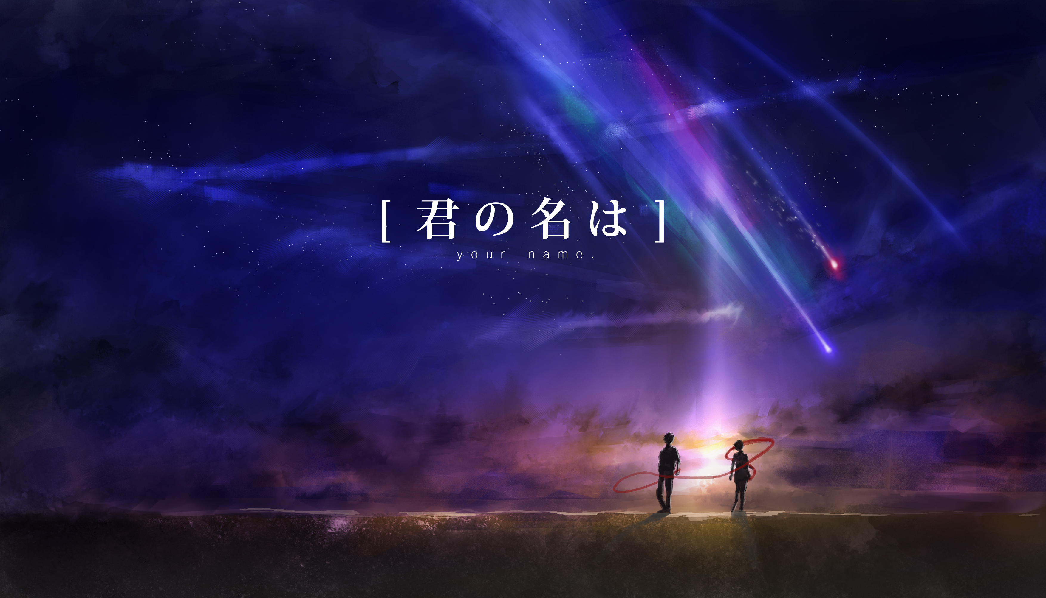 Your name matching wallpapers ♡. Your Name. HD Wallpaper | Background Image | 3508x2008