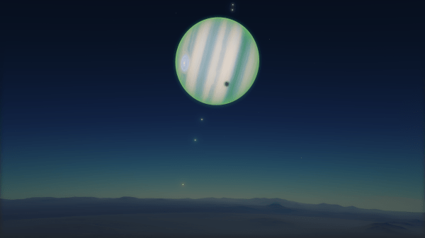 Green gas giant (Space Engine) HD Wallpaper | Background ...