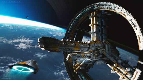 Space Station HD Wallpaper Background Image 3000x1688