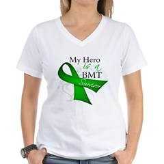 Hero BMT Survivor Women's V-Neck T-Shirt