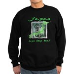 LOST ANIMALS OF JAPAN - VINTAGE STAMP Sweatshirt (
