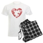 PIECE OF MY HEART Men's Light Pajamas