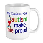 Autism Proud Ribbon Large Mug