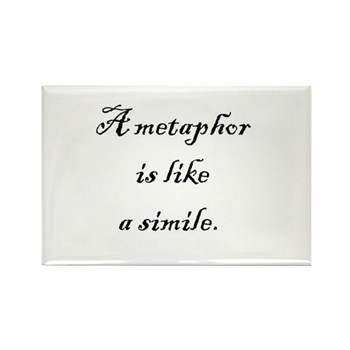 metaphor quote magnet
