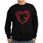 PIECE OF MY HEART Sweatshirt (dark)
