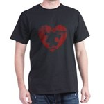 PIECE OF MY HEART Dark T-Shirt