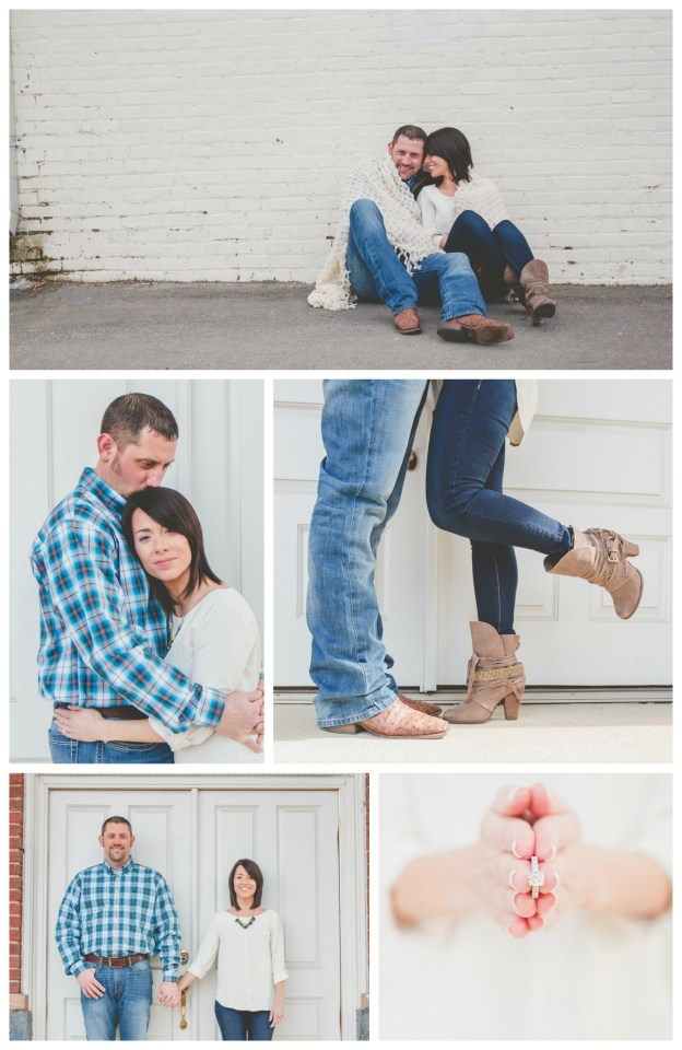 Downtown Apex, NC Engagement