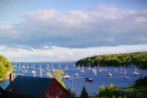 Boats In Rockport Harbor copy