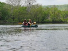 Delaware Water Gap, kayak