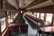 Whippany Railroad Museum, interior, restored, vintage
