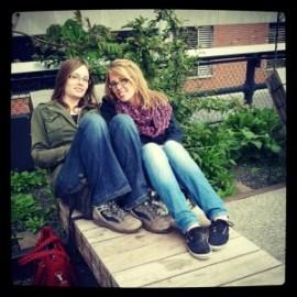 Sonja + Sandra @ Highline Park, NY