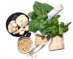pesto, genovese, basil, parmesan, garlic, pine nuts