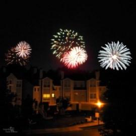 Oakridge, july 4, fireworks