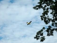 Flying over Kittatinny Valley State Park