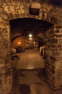 Cellar of Bassermann Jordan winery