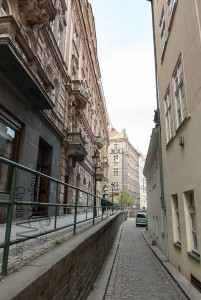 prague, old town, narrow roads