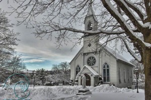 Winter in NJ: St. Mary's Church Whippany