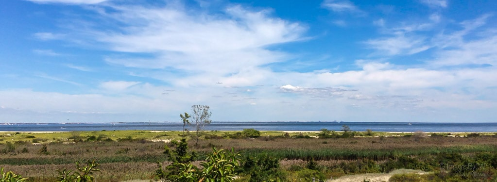 NYC panorama from Sandy Hook