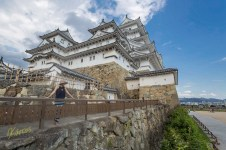 On our 5th day in Japan, we visited Himeji Castle. What an impressive architecture! Indeed a true treasure of Japanese history.