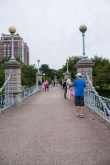 Public Garden foot bridge opened 1867
