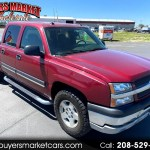 Used 2004 Chevrolet Silverado 1500 Ls Crew Cab 4wd For Sale In Idaho Falls Id 83401 Buyers Market And Wholesale