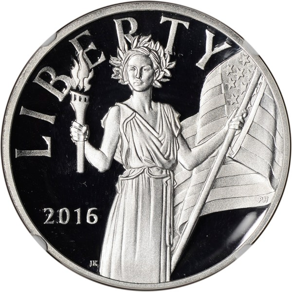 2016-S US American Liberty Silver Medal - NGC PF69 UCAM ...