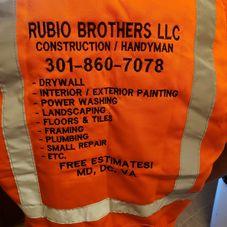 rubio brothers llc handyman service