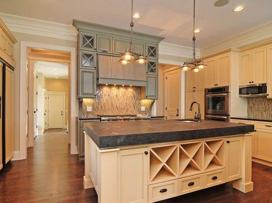 Beige New Traditional Kitchen In Cornelius NC By Walker