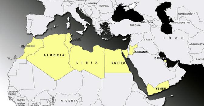 Atlante delle rivoluzioni dalla Tunisia al Bahrain. Così Nordafrica e Medio Oriente cambiano sotto i nostri occhi