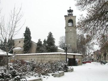 Photo: wikipedia - Bansko church / Църквата в Банксо